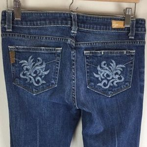 PAIGE Laurel Canyon Low Rise Bootcut Jeans Size 28